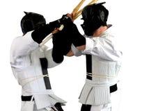 sports de série de kumite de karaté de combat Photographie stock