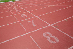 Sports de tapis roulant Photo stock