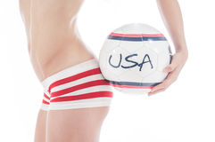 Sports des Etats-Unis Photo libre de droits