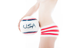 Sports des Etats-Unis Photographie stock libre de droits