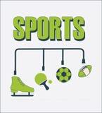 Sports design Stock Image