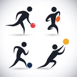 Sports design. Stock Photography
