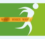 Sports design. Stock Image