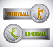 Sports design Royalty Free Stock Image