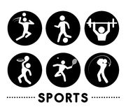 Sports design Stock Photo