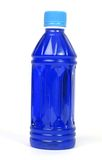 Sports drink. Close up shot of a blue colored sports drink royalty free stock photography