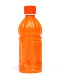 Sports drink. Close up of an orange sports drink stock image