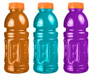 Sports Drink Set Isolated Stock Photos