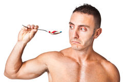 Sports drugs Stock Photography