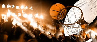 Sports and entertainment. Basketball and team sports stock photos