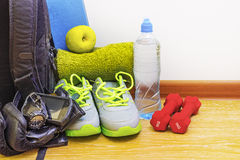 Sports equipment Stock Photography