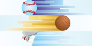 Sports equipment-2 Stock Images