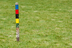 Sports equipment - croquet gear Royalty Free Stock Images