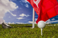 Sports equipment, golf Stock Photography
