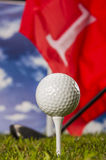 Sports equipment, golf Stock Photos