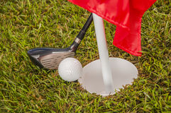 Sports equipment, golf Royalty Free Stock Images