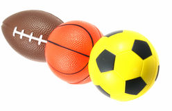 Sports equipment isolated Royalty Free Stock Photography