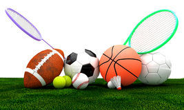 Sports equipment Stock Photos