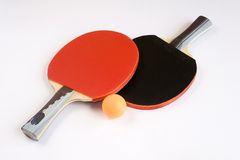Sports Equipment for Table Tennis Stock Images