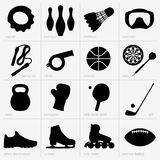 Sports equipments Stock Images