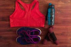 Sports et équipement de forme physique Images libres de droits
