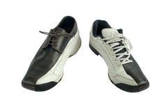 Sports et chaussures de robe. photos libres de droits