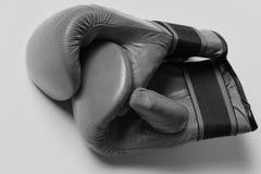 Sports et concept d'arts martiaux Équipement en cuir de boîte images stock