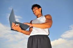Sports et technologie 6 Image libre de droits