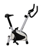 Sports exercise bicycle Stock Photo
