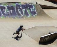 Sports extrêmes dans le sportsground, ville de bellingen, Australie Image libre de droits