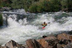 Sports extrêmes - kayak image libre de droits
