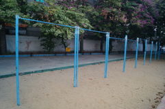 Sports facilities in schools Stock Photo