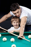 Sports family Royalty Free Stock Image