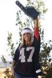 Sports Fan Celebrating Royalty Free Stock Photography