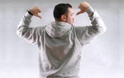 Sports fan wear sweatshirt Royalty Free Stock Photography