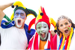 Sports fans Stock Images