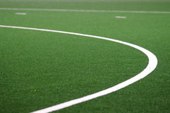 Sports Field. Astro turf artificial grass playing field Stock Photos