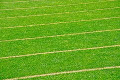 Sports Field Closeup Background Stock Images