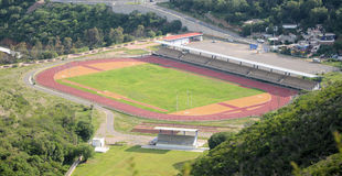 Sports Field. Image of a sports field located at Guanajuato Mexico stock photos
