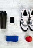 Sports and fitness background royalty free stock photo