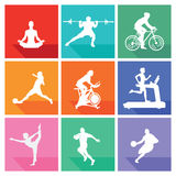 Sports and fitness  Stock Photo