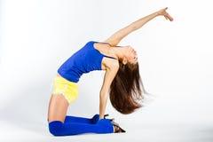 Sports fitness girl Stock Photos