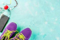 Sports, fond de concept de forme physique Photos stock