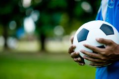 Sports Football With the space available to reproduce sports ideas royalty free stock photos