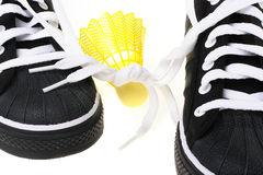 Sports footwear Royalty Free Stock Images