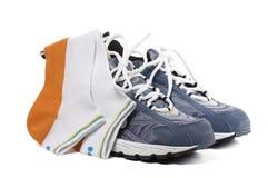 Sports footwear Stock Image
