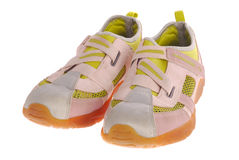 Sports footwear Stock Photos