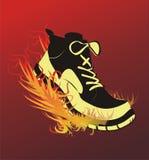 Sports Fußbekleidung lizenzfreie abbildung