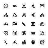 Sports and Games Vector Icons 9 Stock Photo