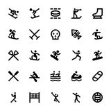 Sports and Games Vector Icons 12 Stock Photography